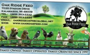 Oak Ridge Feed